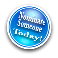 Nominate Someone Today Blue Button