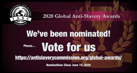We've been nominated.001
